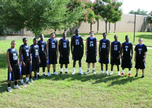 Coastal Bend COllege Men's Basketball Team