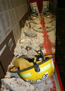 9/11 exhibit at Coastal Bend College