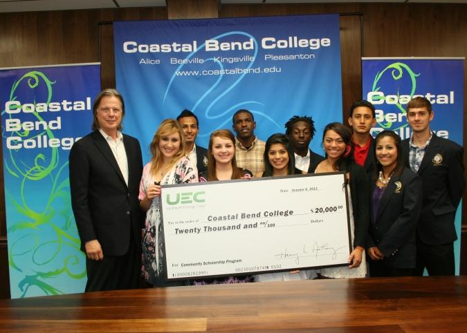 UEC CEO Harry Anthony CBC students athletes ambassadors