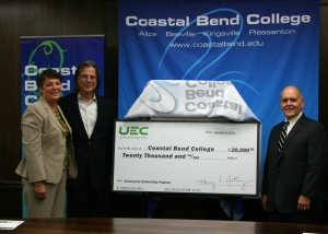UEC scholarship check