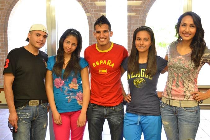 Jostan Padron and his family