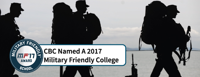 Coastal Bend College Earns 2017 Military Friendly Schools